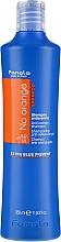 Kup Szampon do włosów farbowanych z ciemnymi pasemkami - Fanola No Orange Extra Blue Pigment Shampoo