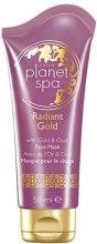 Maska złuszczająca do twarzy z drobinkami złota i olejkiem Oud - Avon Planet Spa Radiant Gold Face Mask — фото N2