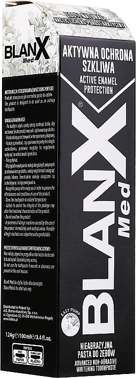 Ochronno-wybielająca pasta do zębów Aktywna ochrona szkliwa - BlanX Med