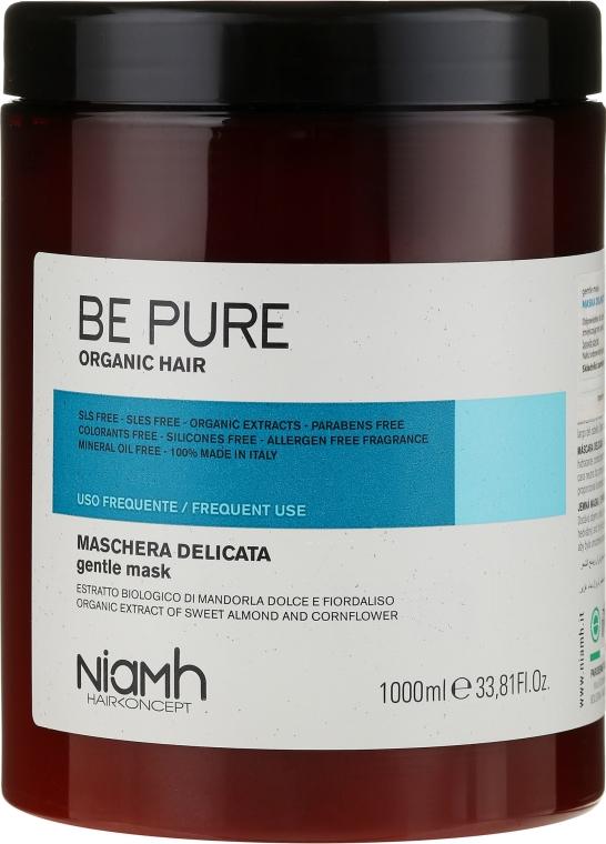 Delikatna maska do włosów do częstego stosowania - Niamh Hairconcept Be Pure Gentle Mask — фото N3