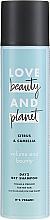 Kup Suchy szampon do włosów cienkich Cytryna i kamelia - Love Beauty And Planet Citrus & Camellia Dry Shampoo