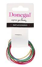 Kup Cienkie gumki do włosów 12 szt., FA-9911 - Donegal