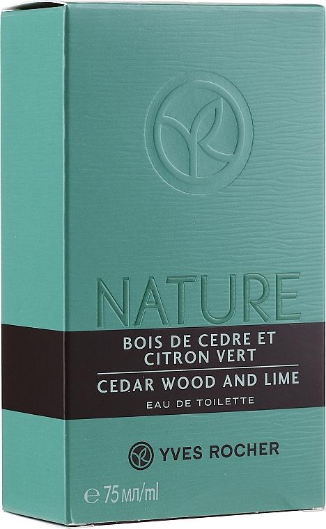 PRZECENA! Yves Rocher Cedar Wood And Lime - Woda toaletowa* — фото N1