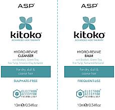 Kup Zestaw - Affinage Kitoko Hydro-Revive Cleanser & Balm Sachet Duo (h/sham/10ml + h/balm10ml)