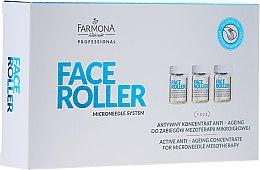 Kup Aktywny koncentrat anti-ageing do zabiegów mezoterapii mikroigłowej - Farmona Professional Face Roller Active Anti Ageing Concentrate
