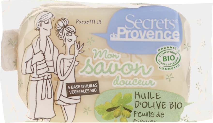 Mydło - Secrets De Provence My Soap Bar Olive Oil Fig Tree — фото N1