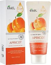 Kup Naturalny peelingujący żel do mycia twarzy Morela - Ekel Apricot Natural Clean Peeling Gel