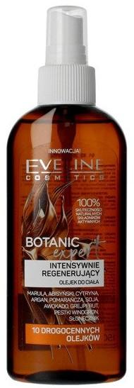 Intensywnie regenerujący olejek do ciała 10 drogocennych olejków - Eveline Cosmetics Botanic Expert