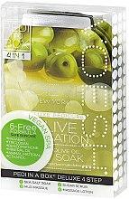 Kup Zestaw do pedicure'u Oliwa - Voesh Pedi In A Box Deluxe Pedicure Olive Sensation
