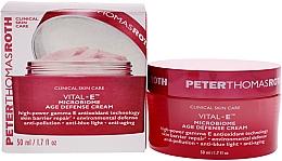 Kup Przeciwzmarszczkowy krem do twarzy - Peter Thomas Roth Vital-E Microbiome Age Defense Cream