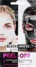 Kup Oczyszczające maski węglowe dla niej i dla niego Biała i czarna - Bielenda Carbo Detox Black & White