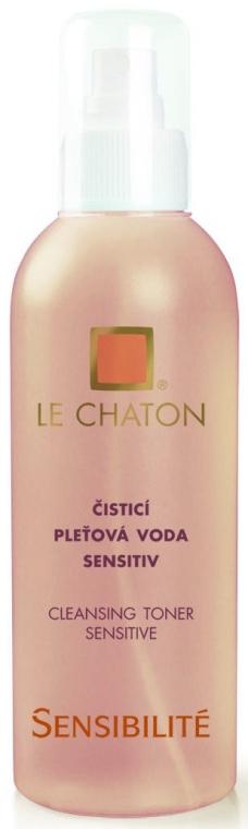 Delikatny tonik do twarzy - Le Chaton Sensibilite Cleansing Toner Sensitive — фото N1
