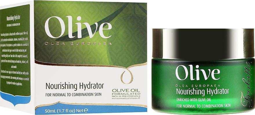 Odżywczy krem do twarzy - Frulatte Olive Oil Nourishing Hydrator — фото N1