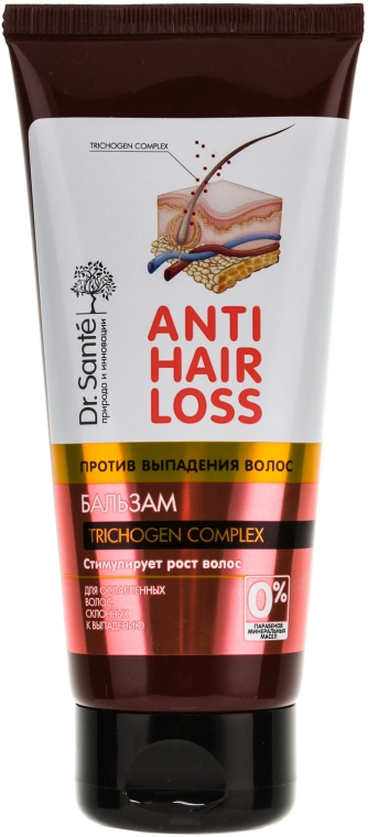 Odżywczy balsam przeciw wypadaniu włosów - Dr. Santé Anti Hair Loss Balm