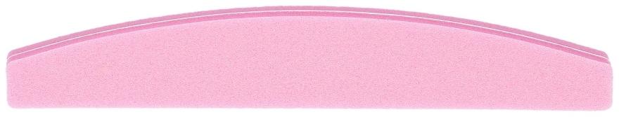 Dwustronna polerka do paznokci, łódka 100/180, różowa - Tools For Beauty — фото N1