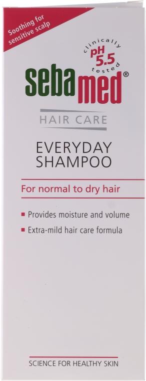 Delikatny szampon do włosów normalnych i suchych - Sebamed Classic Everyday Shampoo — фото N1