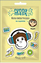 Kup Maska energetyzująca na tkaninie z bananem i kiwi Małpa - Marion Funny Mask