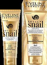 Kup Matujący krem BB przeciw niedoskonałościom 8 w 1 - Eveline Cosmetics Royal Snail BB Cream 8in1