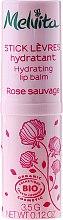 Kup Nawilżający balsam różany do ust - Melvita Rose Sauvage Hydrating Lip Balm