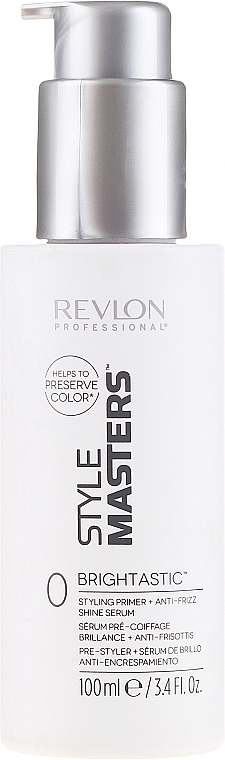Primer + serum do włosów - Revlon Professional Style Masters Double or Nothing Brightastic — фото N1