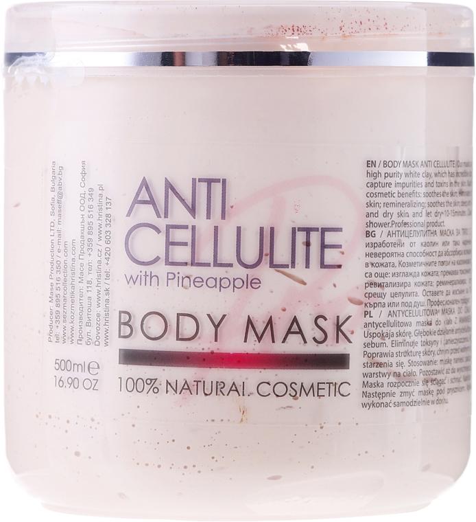 Antycellulitowa maska do ciała Ananas - Sezmar Collection Professional Body Mask Anti Cellulite With Pineapple — фото N1