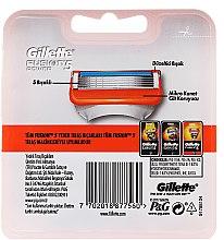 Wymienne wkłady do maszynki, 2 szt. - Gillette Fusion Power — фото N2
