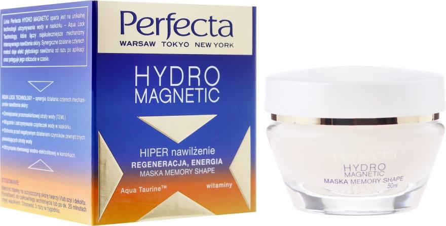Hipernawilżająca maska memory shape do twarzy - Perfecta Hydro Magnetic