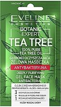 Kup Głęboko oczyszczająca żelowa maseczka antybakteryjna - Eveline Cosmetics Botanic Expert Tea Tree