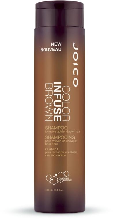 Szampon do włosów w odcieniach brązu - Joico Color Infuse Brown Shampoo — фото N1