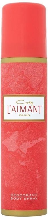 Coty L'Aimant Deodorant Body Spray - Perfumowany dezodorant w sprayu do ciała