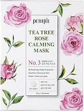 Kup Kojąca maska do twarzy z ekstraktem z róży z drzewa herbacianego - Petitfee&Koelf Tea Tree Rose Calming Mask