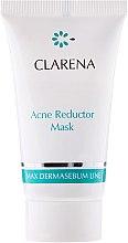 Kup Maska-papka redukująca zmiany trądzikowe - Clarena Max Dermasebum Line Acne Reductor Mask