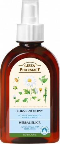 Eliksir ziołowy do włosów łamliwych i zniszczonych - Green Pharmacy Hair Care