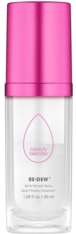 Odświeżający spray do utrwalania makijażu - Beautyblender Re-Dew Set & Refresh Spray — фото N1