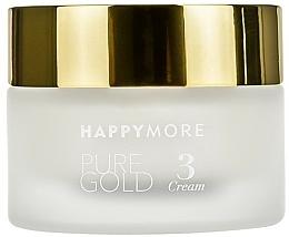 Kup Wygładzający krem do twarzy SPF 20 - Happymore Pure Gold Cream 3