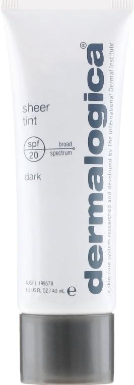 Delikatnie kryjący preparat nawilżający do twarzy SPF 20 - Dermalogica Daily Skin Health Sheer Tint — фото N2