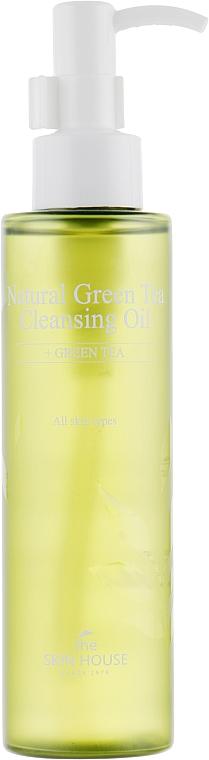 Oczyszczający olejek z ekstraktem z zielonej herbaty - The Skin House Natural Green Tea Cleansing Oil — фото N2