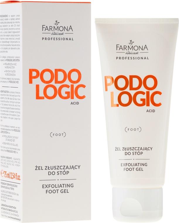 Złuszczający żel do stóp - Farmona Professional Podologic Acid