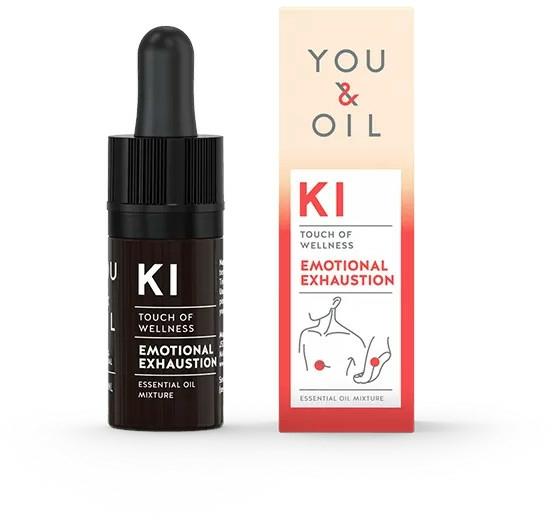 Mieszanka olejków eterycznych - You & Oil KI-Emotional Exhaustion Touch Of Welness Essential Oil — фото N1