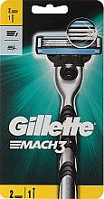 Kup Maszynka do golenia z 2 wymiennymi ostrzami - Gillette Mach3