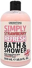 Kup Odświeżający żel pod prysznic Truskawka - Creightons Simply Strawberry Refresh Bath & Shower