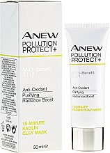 Kup 15-minutowa glinkowa maska do twarzy - Avon Anew Pollution Protect+ 15 Minute Kaolin Clay Mask