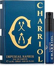 Kup PRZECENA! Charriol Imperial Saphir - Woda perfumowana (próbka)*