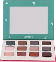 Kup Paleta cieni do powiek - Moira Happy Go, Fly, Travel Shadow Palette
