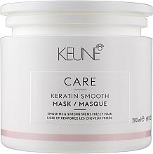 Kup Maska do włosów z kompleksem keratynowym - Keune Care Keratin Smooth Mask