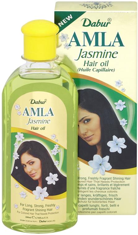 Olejek jaśminowy do włosów farbowanych - Dabur Amla Jasmine Hair Oil