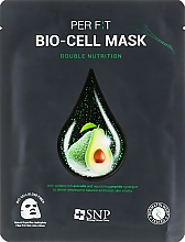 Kup Odżywcza maseczka w płachcie do twarzy z olejem awokado - SNP Double Nutrition Bio-Cell Mask
