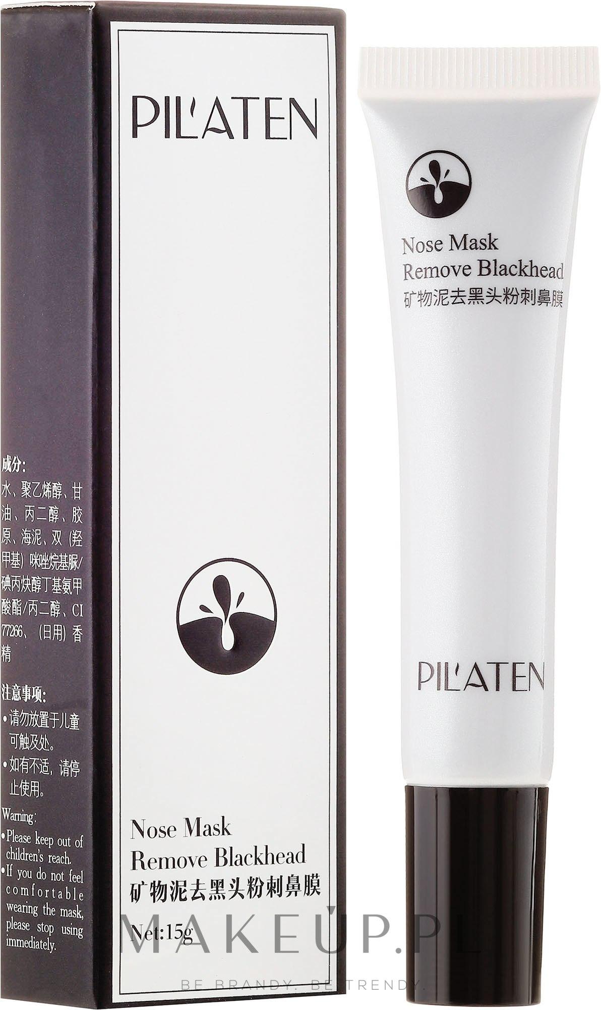 Pilaten Remove Blackhead Nose Mask - Oczyszczająca maska ...