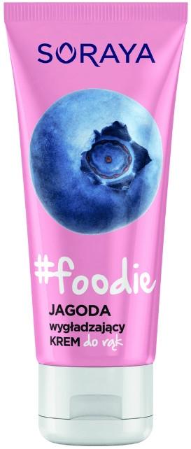 Wygładzający krem do rąk Jagoda - Soraya Foodie