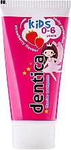 Kup Pasta do zębów dla dzieci Truskawka (0-6 lat) - Dentica Kids Strawberry